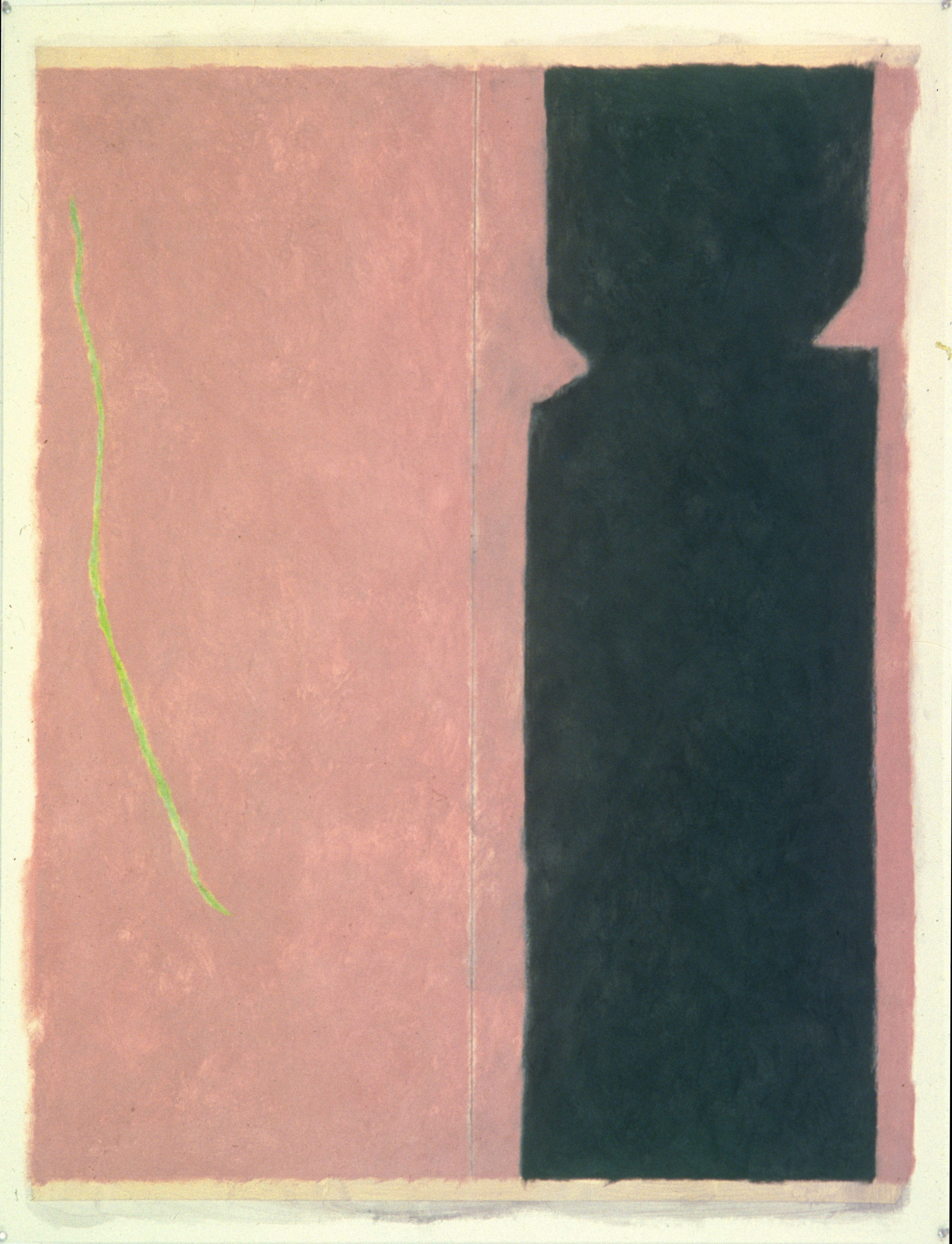 "Number 6, 1979 | 50"" x 38"" 