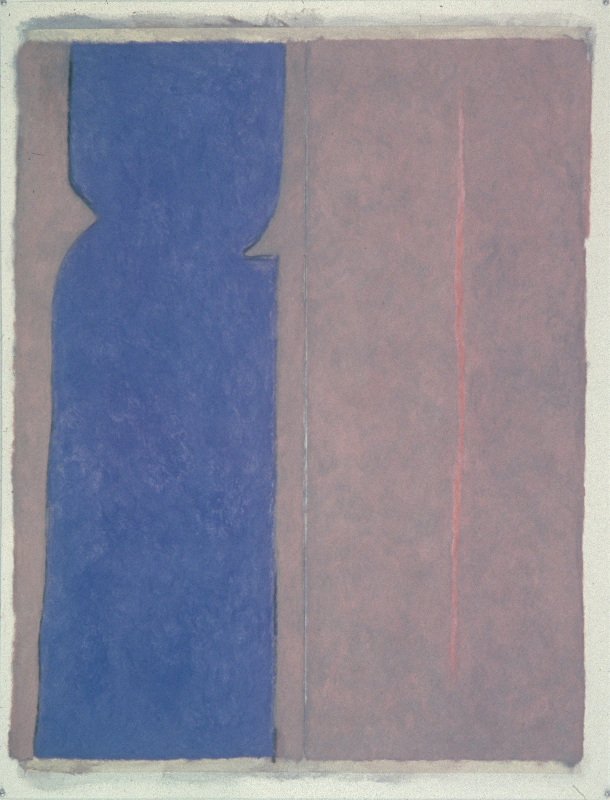 "Number 7, 1979 | 50"" x 38"" 