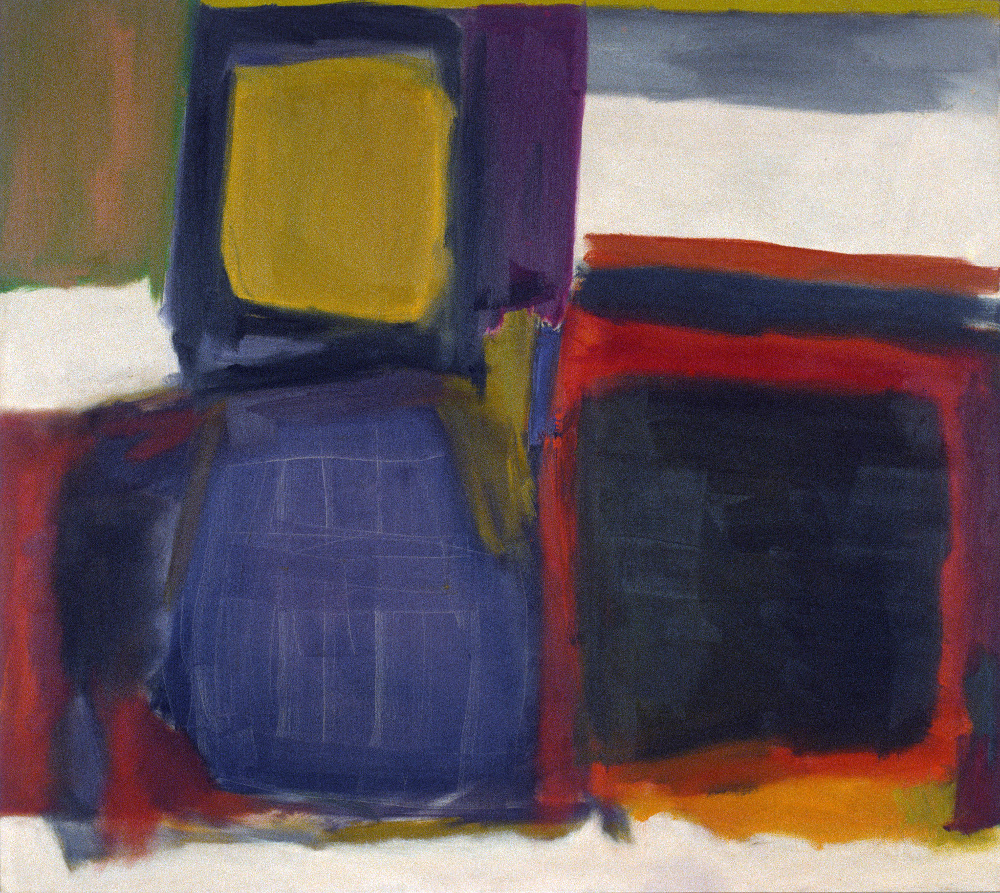 "Untitled No.2, 1963 | 50"" x 55"" 