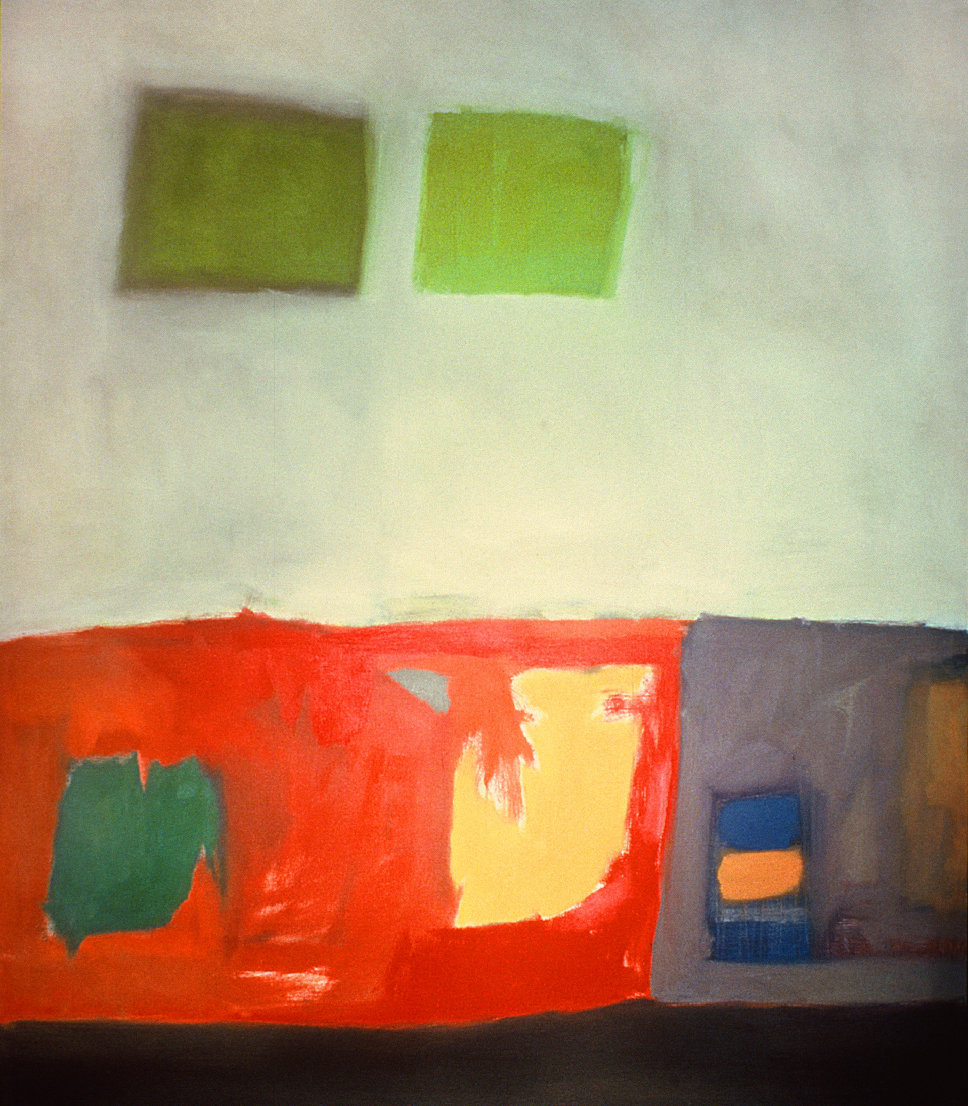 "Untitled No.3, 1963-64 | 55"" x 50"" 