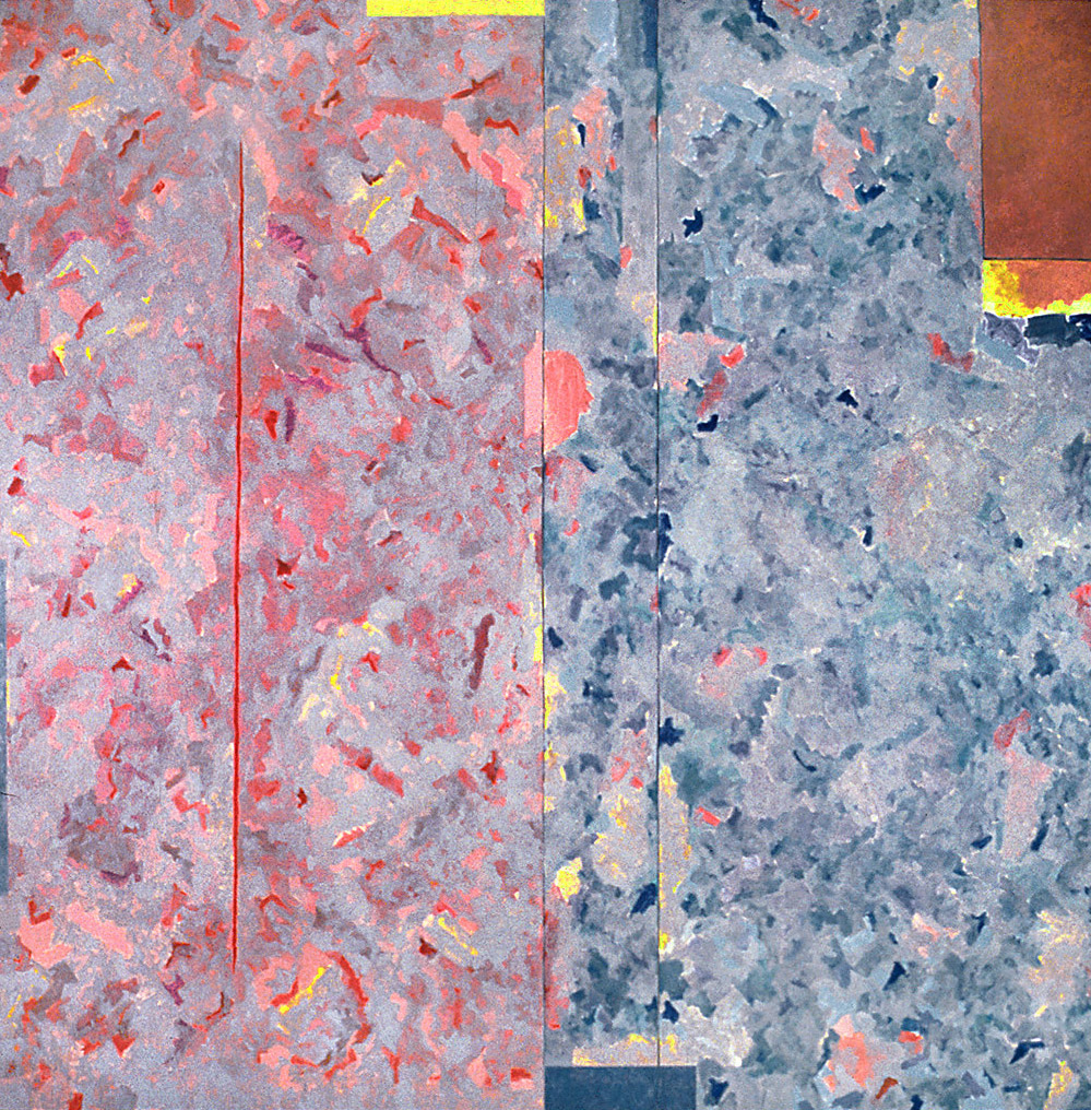 "Composition in a Square, 1979-80 | 96"" x 96"" 