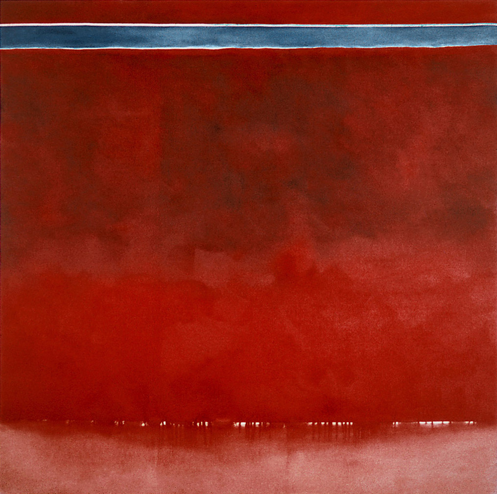 "Red Square No.2, 1974 | 60"" x 60"" 