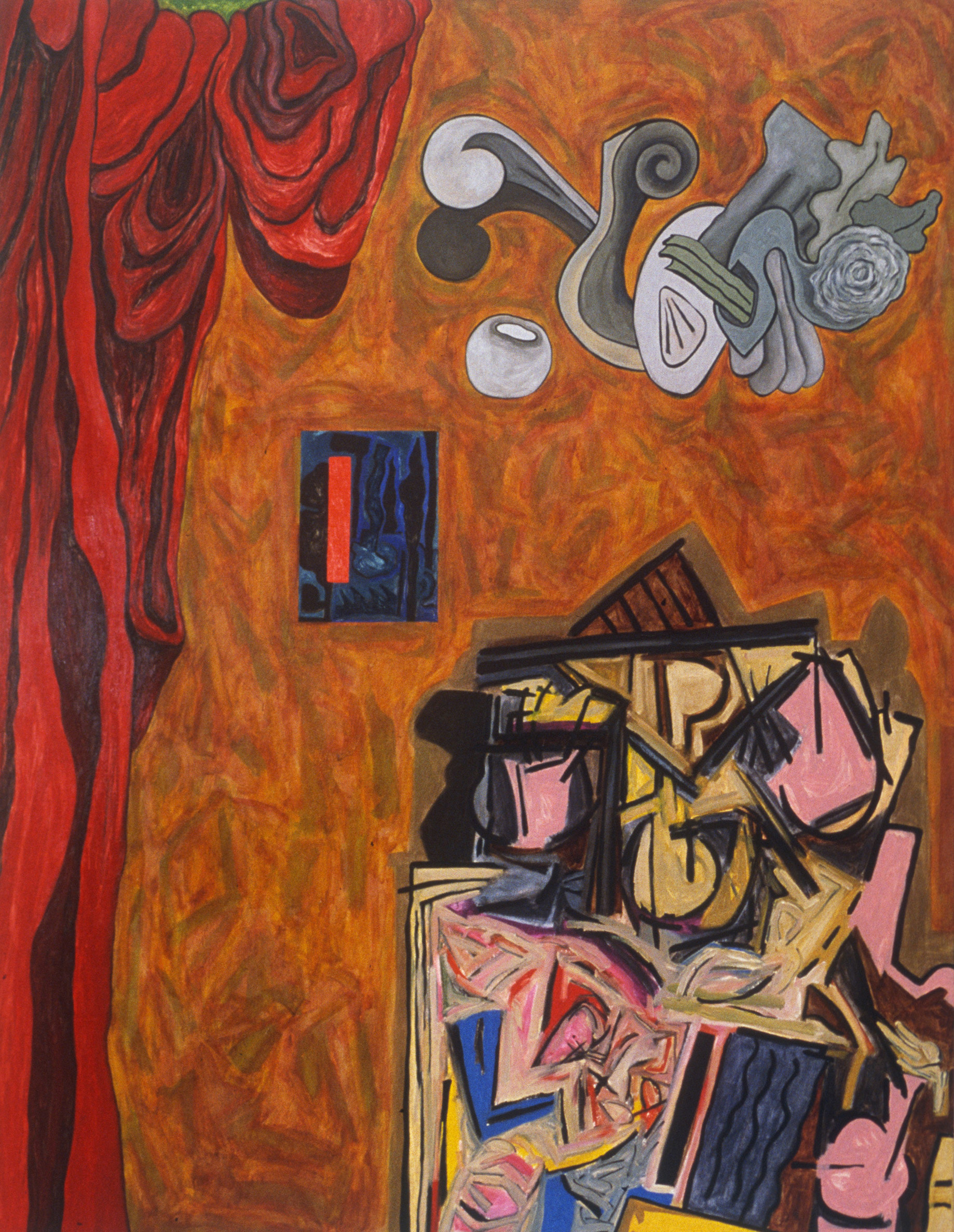 "The Spanish Room, 1995 | 70"" x 54"" 