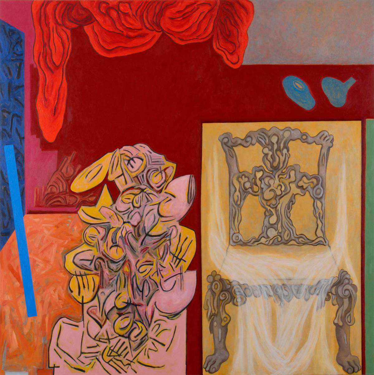 "Evening, 2004 | 60"" x 60"" 