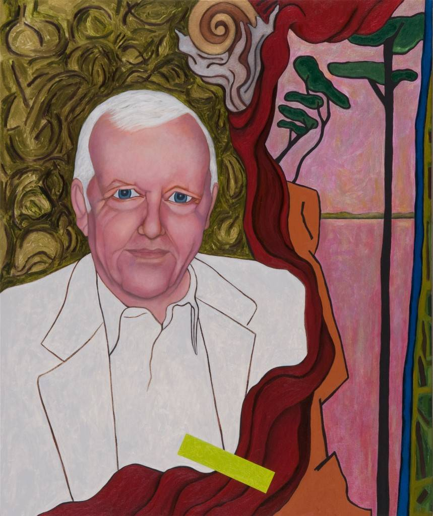"Portrait of Albert B. Roberts, 2004-2007 | 36"" x 30"" 