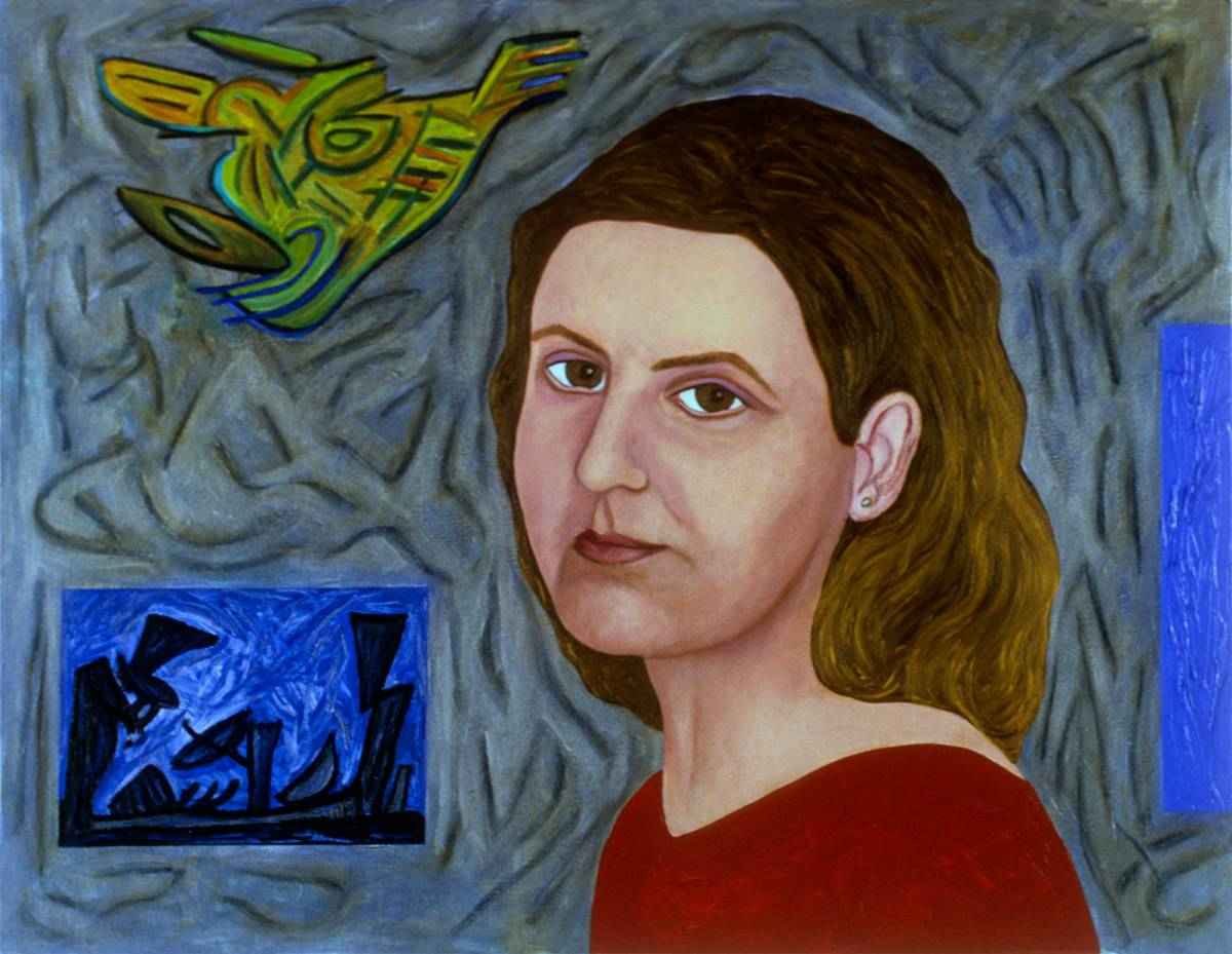 "Lucy, 2003 | 20"" x 26"" 