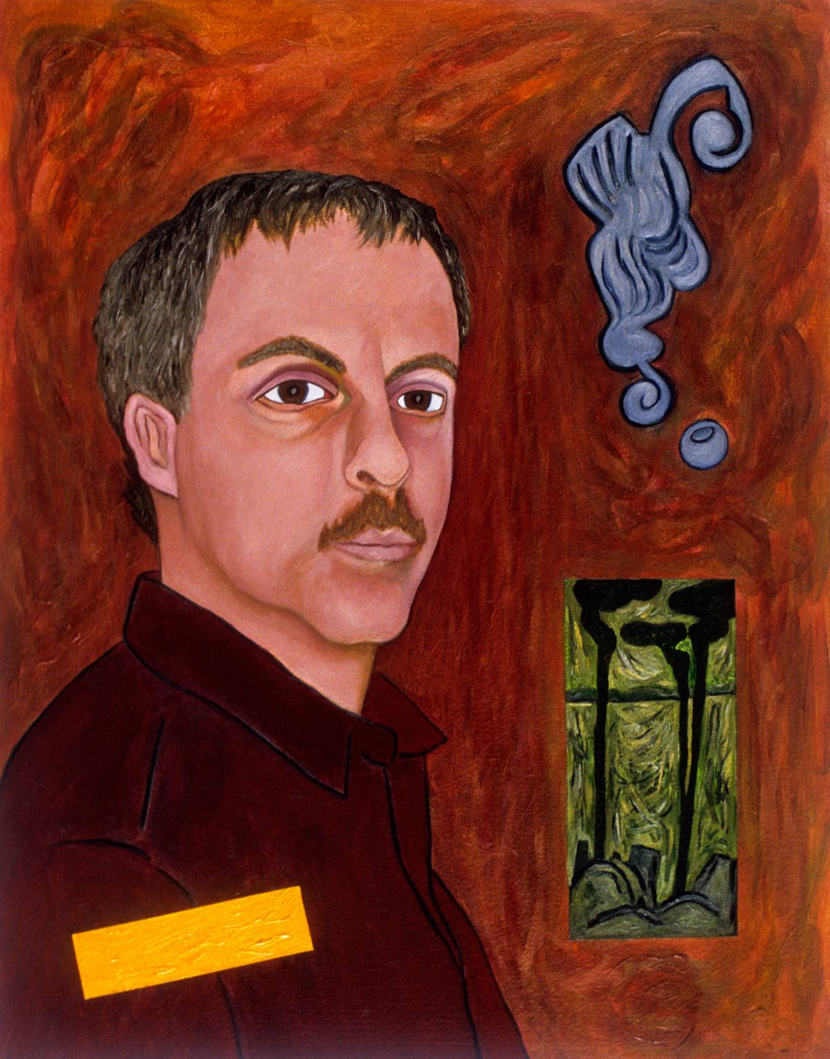 "Alan, 2002 | 26"" x 20"" 