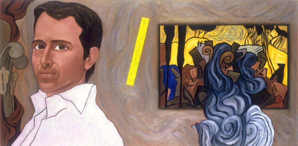 "Wilson, 2003 | [Portrait of Wilson Hand Kidde] | 20"" x 40"" 