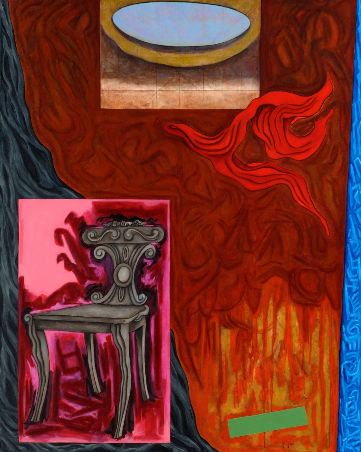"The Antechamber, 2007 | 50"" x 40"" 