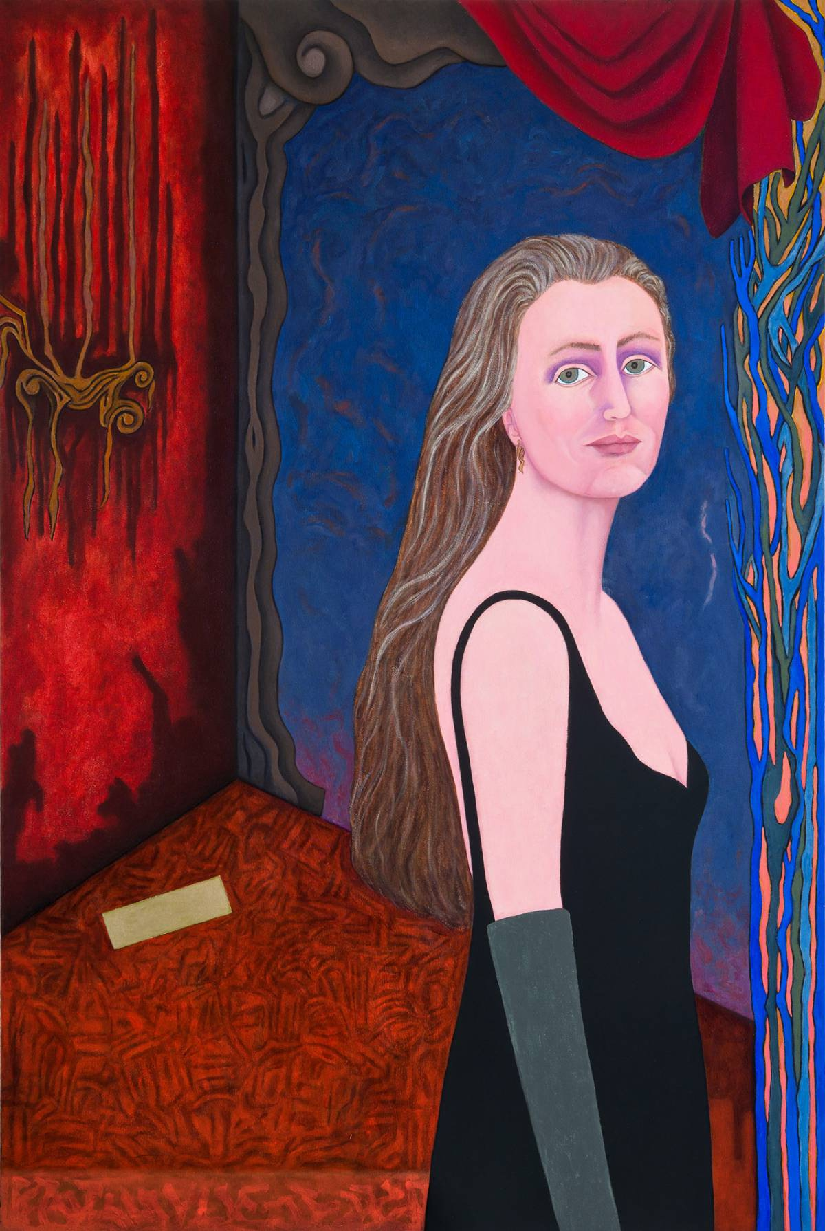 "Diane, 2015 | 60"" x 40"" 