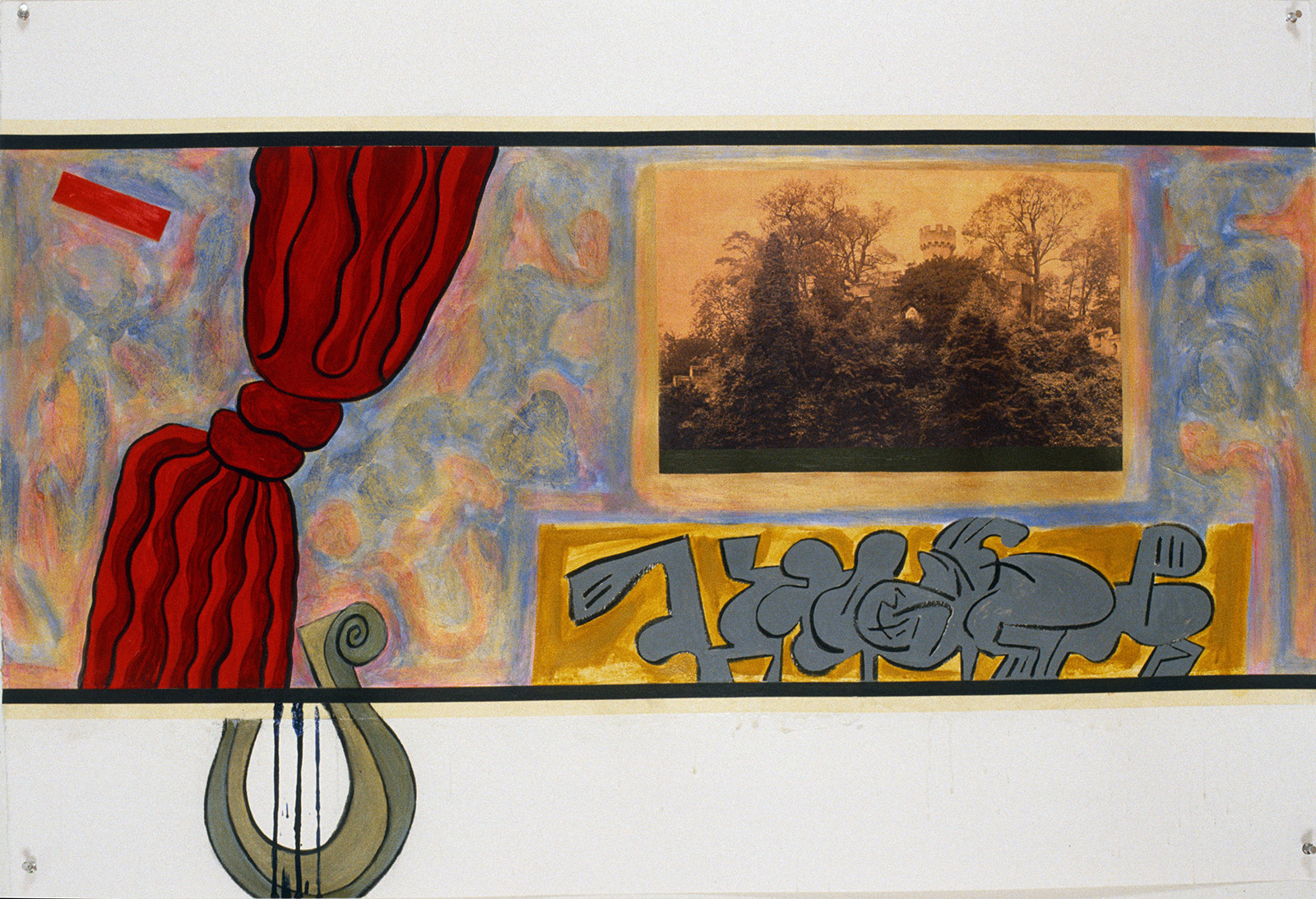"Letterboxed Octet, No.2, 1992 | 30"" x 44"" 