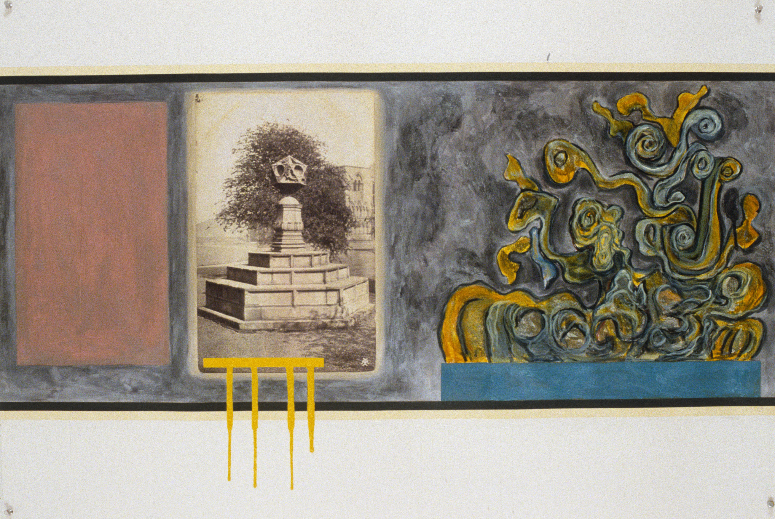 "Letterboxed Septet, No.1, 1992 | 30"" x 44"" 