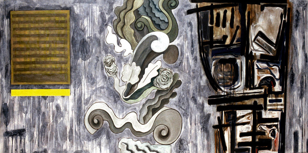 "Still Pictures No.3, 1993 | 48"" x 96"" 