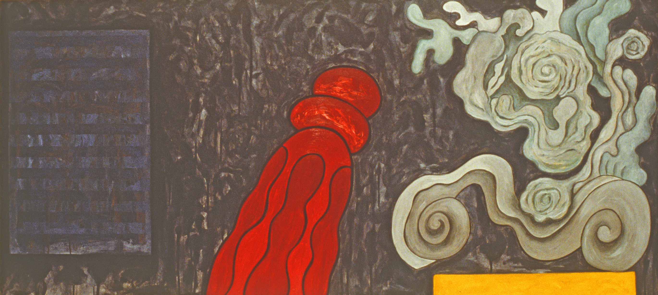 "Still Pictures No.1, 1993 | 27"" x 60"" 