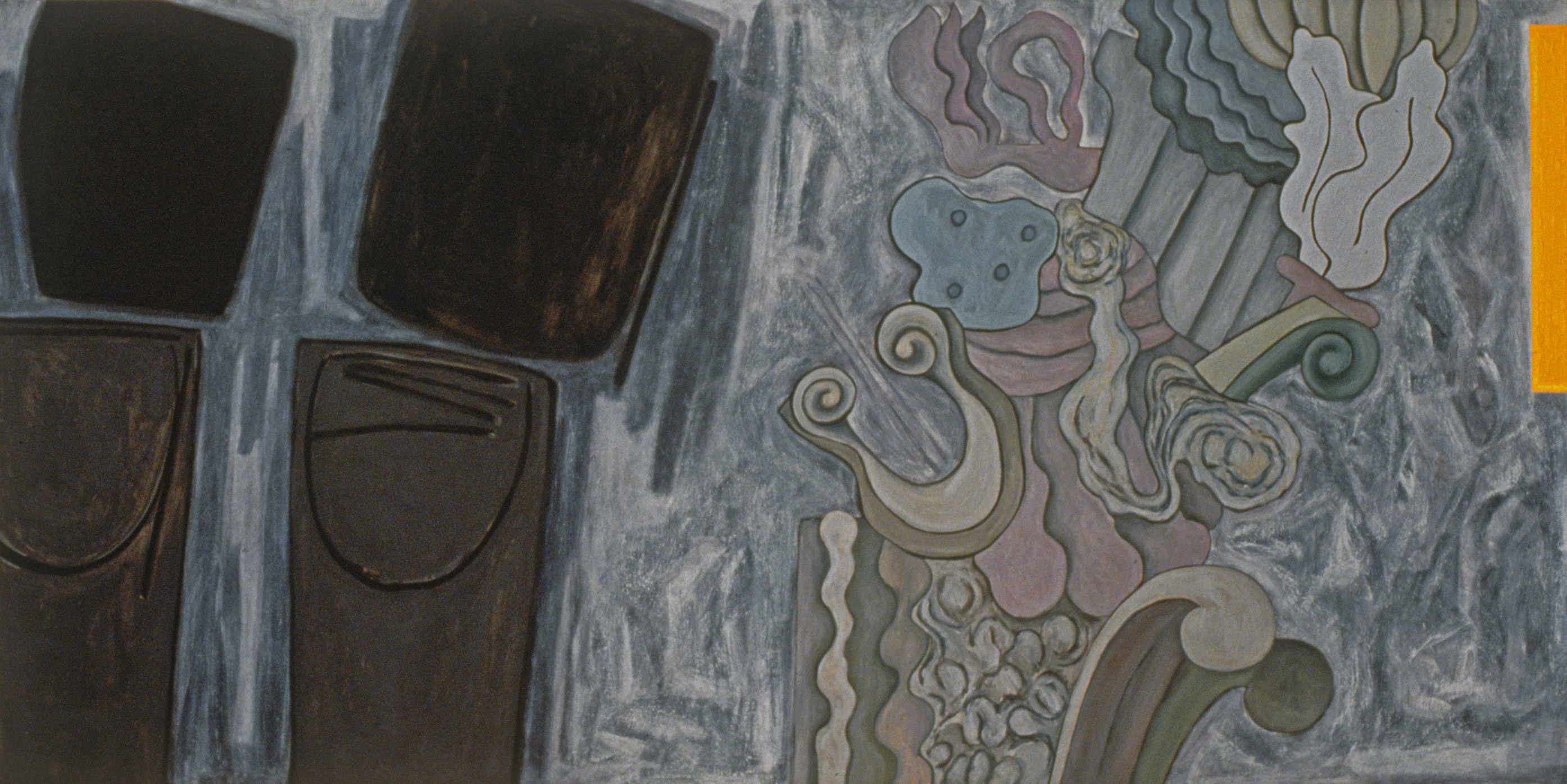 "Still Pictures No.5, 1993 | 40"" x 80"" 